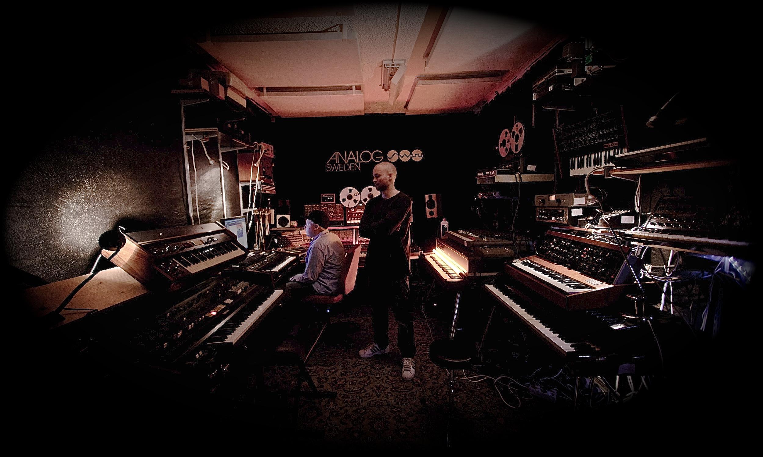 Max I Million & DJ Devastate in the studio