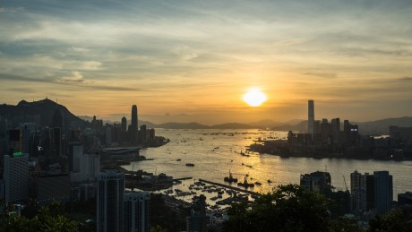 Sunset Hong Kong by Pasu Au Yeung