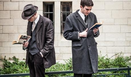James Joyce & Franz Kafka for Agenda
