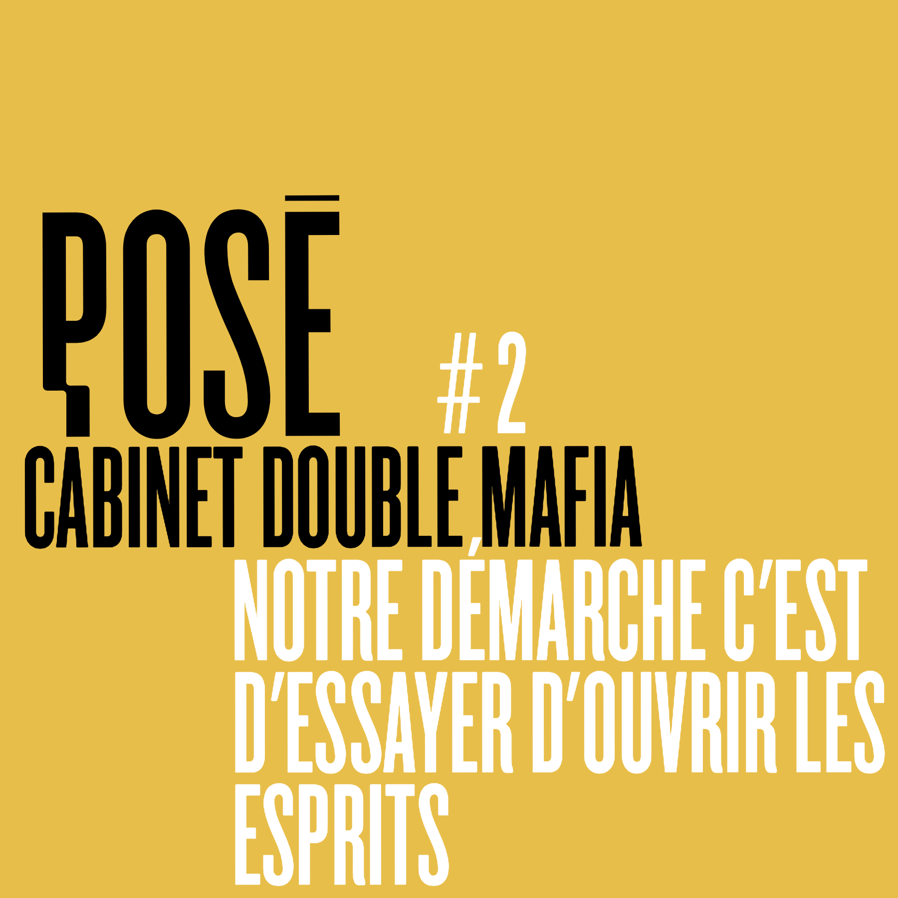Pose cover Cabinet Double Mafia